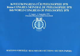 HS world congress of philosophy 1978