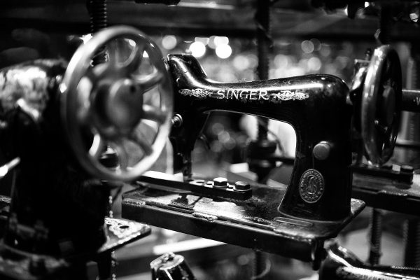 MD Vintage Sewing Machine