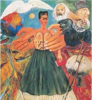 Marxism will give health to the sick, Frida Kahlo, 1954