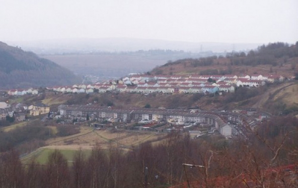 Matthewstown, aka 'The Tynte', South Wales Valleys