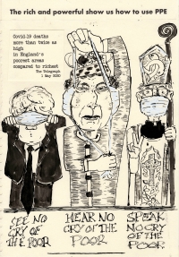 The three wise monkeys: rich, powerful and extremely alert......
