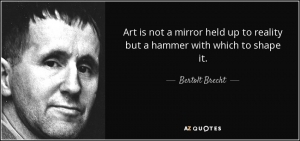 Who is Bertolt Brecht? and Why We Should Care in our Dark Times