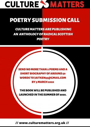 Callout: Anthology of Radical Scottish Poetry