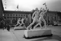 Monument in Pariser Platz, Berlin, 1936