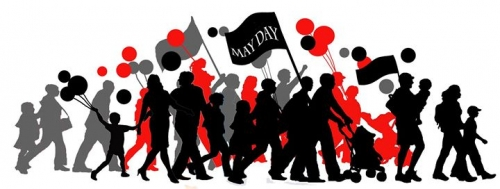 May Day Greetings from Smokestack Books