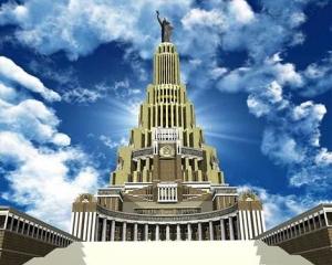 The palace of the soviets