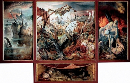 Anti-war and anti-fascist German art: Otto Dix and George Grosz