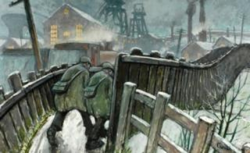 Norman Cornish and the Silver Swan