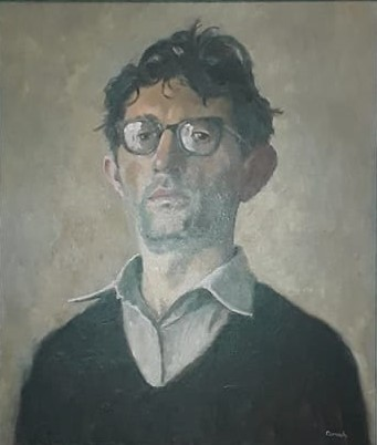 self portrait with spectacles 2
