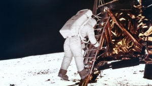 What belongs to us all: the moon landings, July 1969