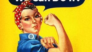 IWD 2019: My Mother Margie & Rosie the Riveter