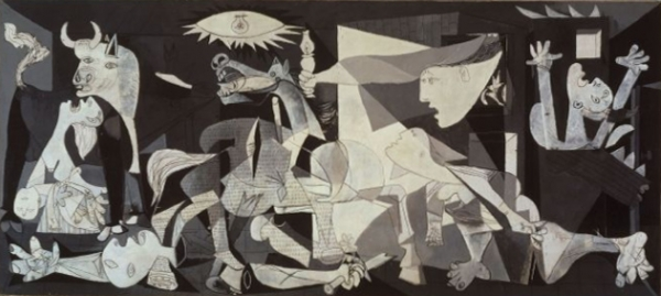 Guernica, by Pablo Picasso