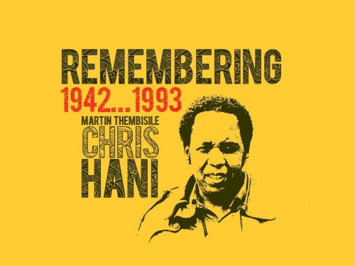 Doodgeskiet: In memory of Chris Hani