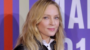 Uma Thurman at Series Mania